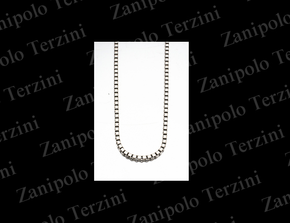 a1478-45 Zanipolo Terzini ザニポロ タルツィーニ ベネチアンチェーン2.0mm 45cm