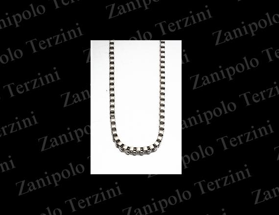 a1479-45 Zanipolo Terzini ザニポロ タルツィーニ ベネチアンチェーン2.5mm 45cm